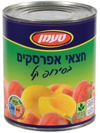 Tamman Peach Halves In Tins 850G