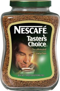 Taster's Choice Instant Coffee Decaffeinated  Nesscafe 100G