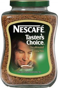 Taster's Choice Instant Coffee Decaffeinated Nesscafe 200G