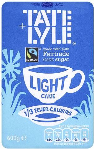 Tate & Lyle Light Cane Sugar 600g
