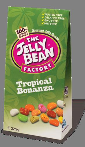 The Jelly Bean  Box Tropical Bonanza 225G
