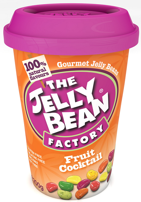 The Jelly Bean Fruit Cocktail Cup 200G