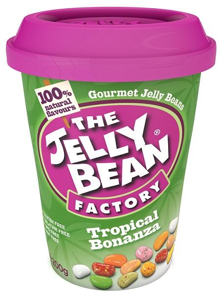 The Jelly Bean Tropical  Bonanza Cup 200G