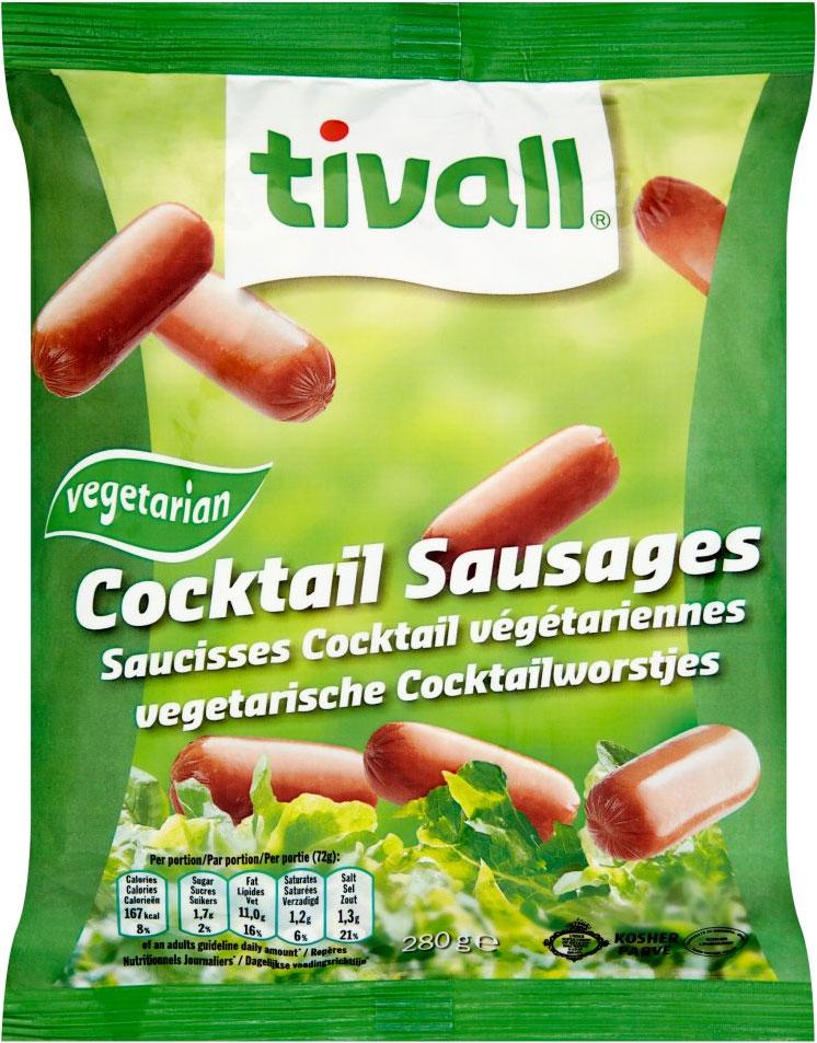 Tivall Vegetarian Cocktail Sausage 280G