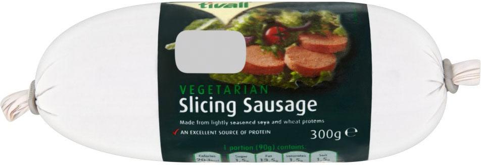 Tivall Vegetarian Slicing Sausage 300G