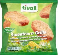 Tivall Vegetarian Sweetcorn Grills 664G