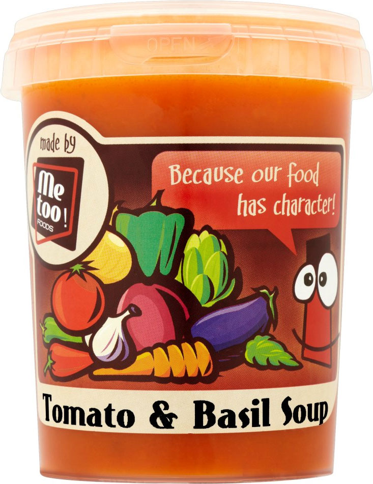Tomato & Basil Soup 500ml