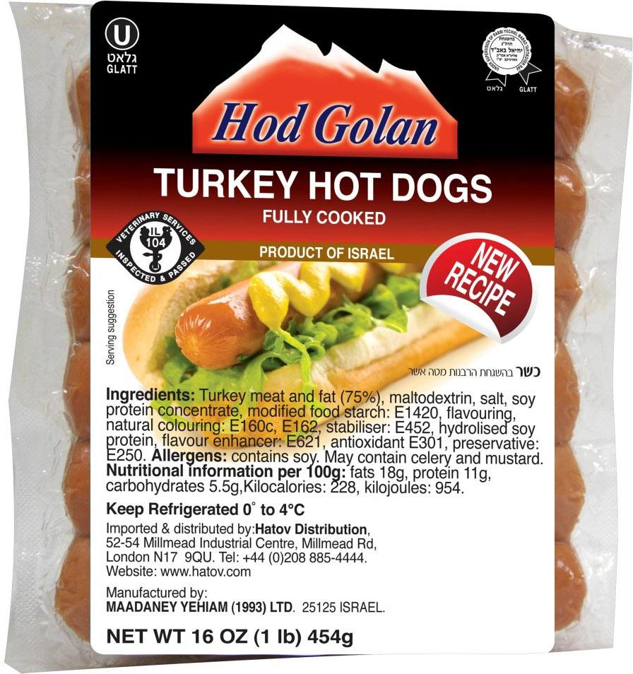 Turkey Sausages 454G