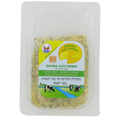 Twin Brand Sliced Cheese Gouda with Herbs 160G