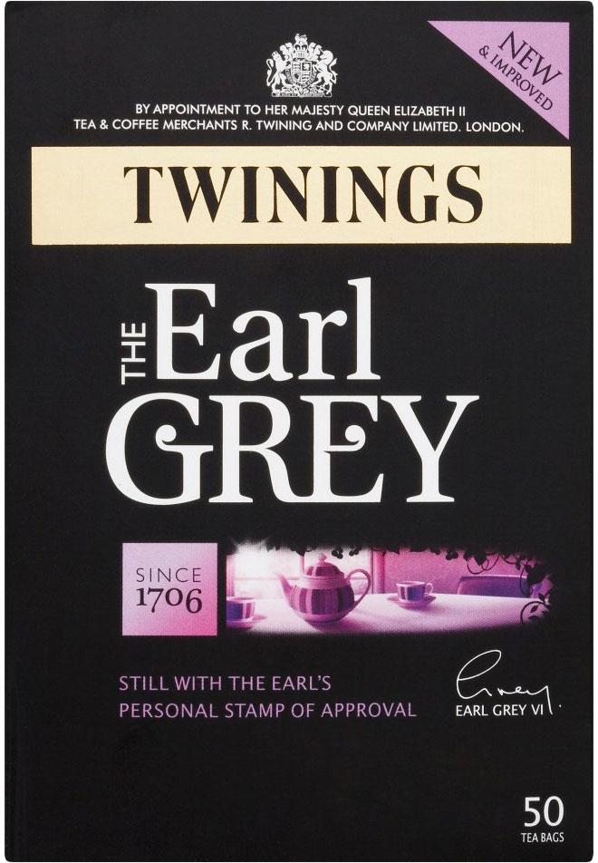 Twinings Bag Earl Grey 50'S
