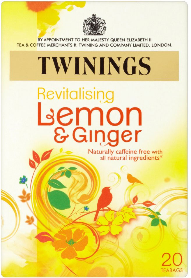Twinings Lemon Ginger 20'S