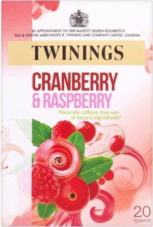 Twinings Raspberry  Strawberry Loganberry 20'S