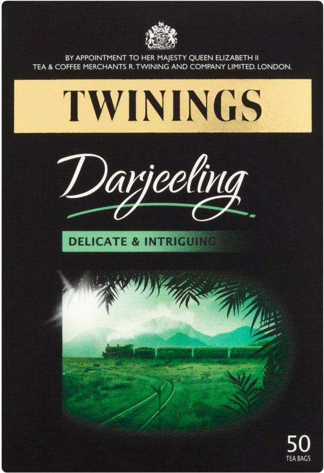 Twinings Tea Bag Darjeeling 50'S