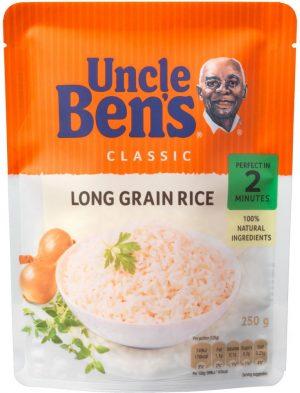Uncle Ben Boiling Bag Rice 250G