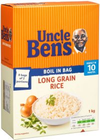 Uncle Ben Long Grain Rice 1KG