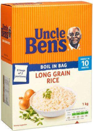 Uncle Ben Long Grain Rice 1KG