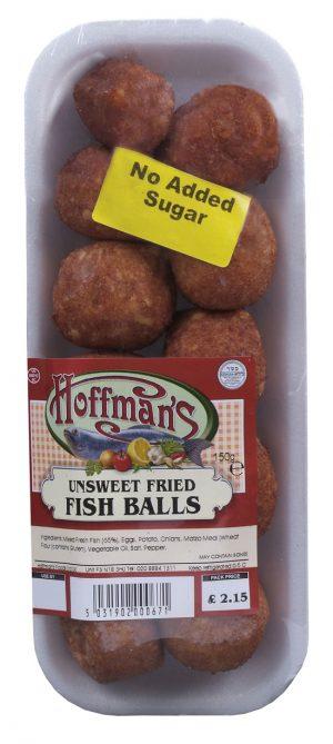 Unsweet Fried Fish Balls 150G