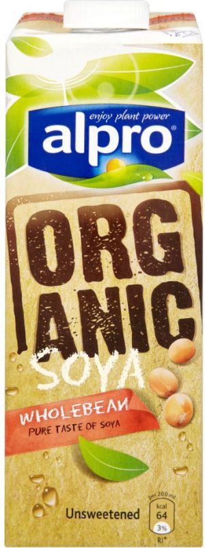 Unsweetened Organic Milk (Green) 1L (IMPORT)