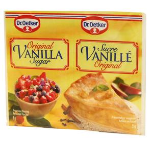 Vanilla Sugar In Sachets 10pc