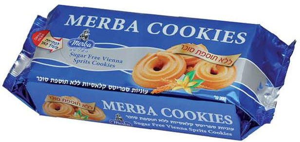 Vienna Sprits Cookies Sugar Free Merba 200G