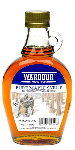 Wardour Maple Syrup 340G