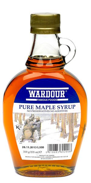 Wardour Maple Syrup 340G