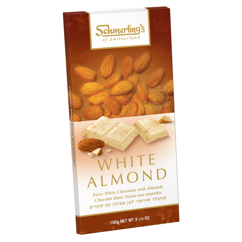 White Almond - White Chocolate (Almonds) 100G