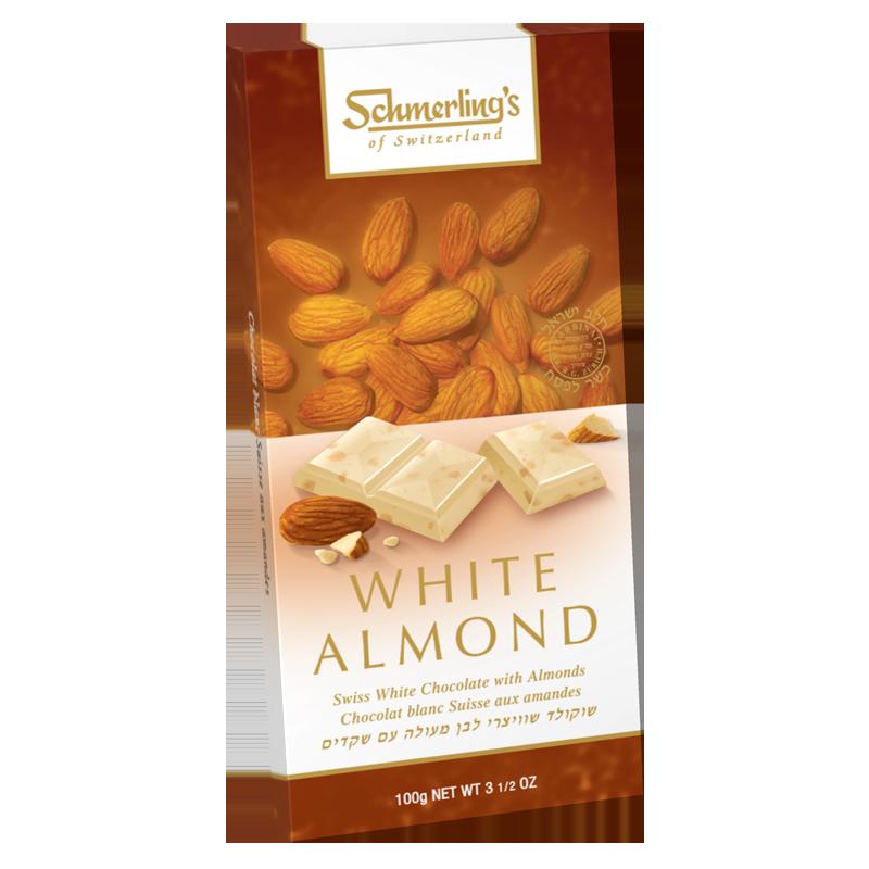 White Almond - White Chocolate (Almonds) 100G