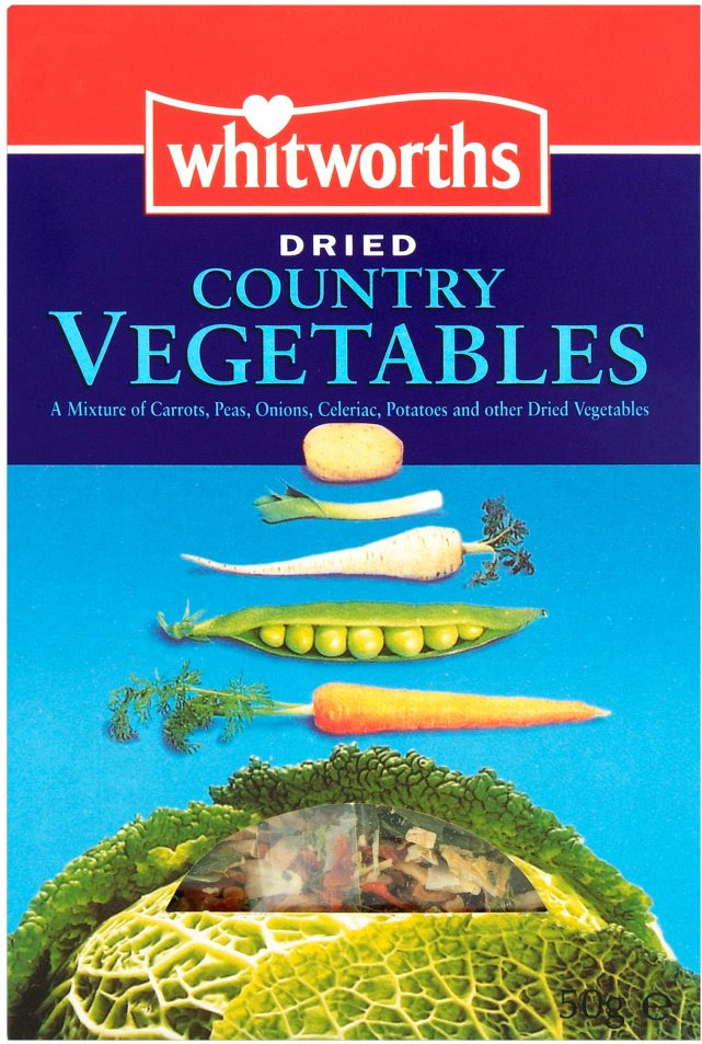 Whitworths Dried Mix Vegetables 50G