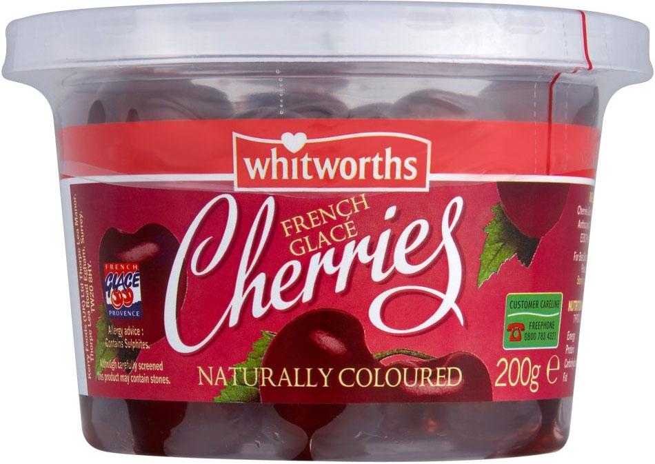 Whitworths Glace Cherries 100G