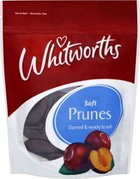 Whitworths Stoned Prunes 200G