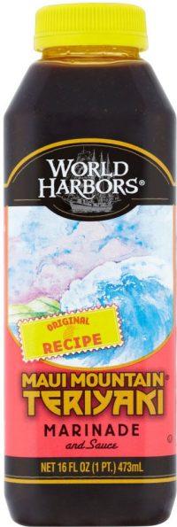 World Harbor Teriyaki Sauce 510G