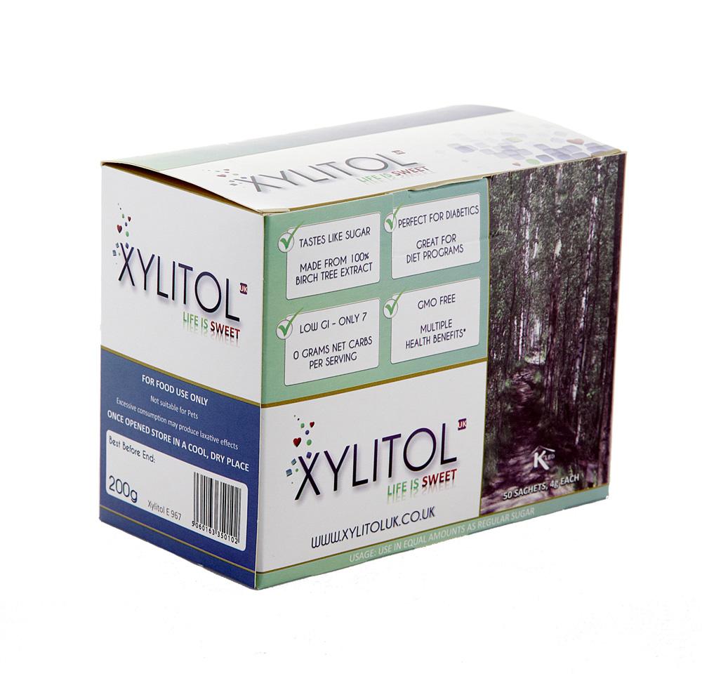 Xylitol Sweetener - Sachets 50*4G