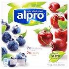Yogurt Blueberry & Cherry 4*250ml