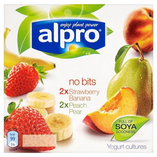 Yogurt Strawberry Banana Peach Pear 4*250ml