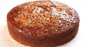 Round Honey Cake