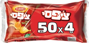 Chipsy Snack Osem 4*50G