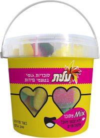 Fruits flavor Sugared gummy Elite 200G