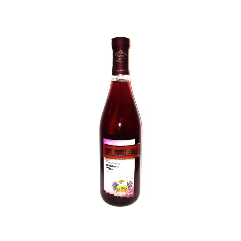 Kedem Traditional Kiddush Wine 750ml | Kedem | Kosher food ...