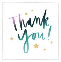 Thank You - Appreciation